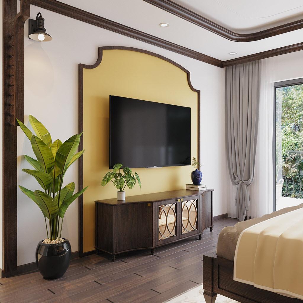 Sau cải tạo, các phòng ngủ trong căn nhà phố của chị Nhung đều được trang bị đầy đủ tiện ích hiện đại, phục vụ nhu cầu nghỉ ngơi, thư giãn của gia chủ.