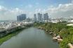 Cho thuê chung cư Cantavil Hoàn Cầu thuộc tầng trung, DT rộng rãi 138m2