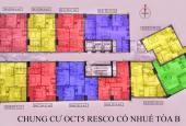 Tôi cần bán CH 64.5m2, 64.45m2, 55.8m2, 63.4m2 chung cư OCT5 Cổ Nhuế, giá từ 17tr/m2. 0984.486.179