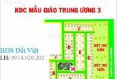 Cần bán gấp lô đất nhà phố dự án Mẫu Giáo Trung Ương 3, Phú Hữu, Q. 9, sổ đỏ, 108m2, vị trí đẹp