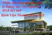Bán đất thổ cư khu dân cư Tràng An - Bệnh viện Thanh Vũ. LH: 0918.661.669