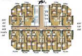 Bán chung cư ngõ 100 Hoàng Quốc Việt, căn hộ 106 giá 25 tr/m2. 038.227.6666