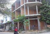Bán nhà xây thô, liên kề 1 trệt, 2 lầu, đường 7m, lô A, cụm dân cư trung tâm xã Vĩnh Thạnh