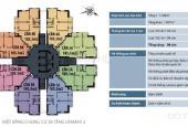 CC Unimax 210 Quang Trung - Hà Đông, căn góc Đông Nam, DT 103.3m2, 3 phòng ngủ, giá 17tr/m2