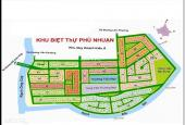 Bán đất nền dự án Phú Nhuận-P Phước Long B- quận 9. Cam kết rẻ nhất thị trường. sổ đỏ 100%