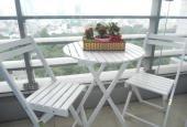 Cho thuê CHCC Sài Gòn Airport, quận Tân Bình, 3 phòng ngủ thiết kế châu Âu giá 25 triệu/tháng