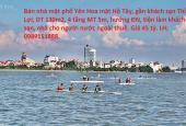 Bán nhà mặt phố tại phố Yên Hoa, Phường Xuân La, Tây Hồ, Hà Nội