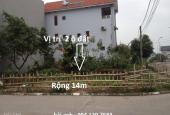 Bán đất biệt thự 196m2 2 mặt tiền Cột 5