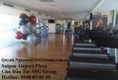 Bán căn góc 3PN – 123m2 Saigon Airport Plaza, đủ nội thất- Hotline CĐT 0908 078 995