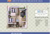Bán CC A1CT2 Linh Đàm căn 1502 (căn số 02, tầng 15) 76m2 thiết kế 2PN nhận nhà ngay. 0902.223.710