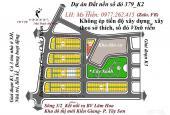 Đất nền sổ đỏ 379 khu K2 Phan Bá Vành, giá 13 triệu/m2, đường 11,5m. LH: Ms Hiền: 0977.262.415