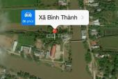 Bán đất mặt tiền lộ giới 12m (đường xã Bình Thành thông ra chợ Cầu Sáng kinh cùng)