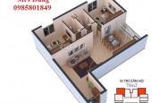 Bán căn hộ 2 phòng ngủ dự án TBCO RIVERSIDE TP Thái Nguyên 0912032262
