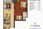 CC bán căn hộ ở tòa T1 Times City, Hai Bà Trưng 75.2m2, sổ đỏ, full nội thất NK Ý, LH: 0869250400