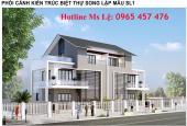 Bán lô đất  liền kề 208m2 mặt kinh doanh giá rẻ KĐT Nam Vĩnh Yên LH: 0965 457 476