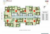 Ra nước ngoài bán gấp căn hộ tầng 1603 DT: 76m2, chung cư 89 Phùng Hưng giá: 1.42 tỷ