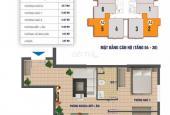 Cô Hương bán CHCC Nam Xa La, DT: 83.8m2, tầng 1811, CT1, giá 12.5tr/m2. LH 0936.669.773