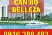 Bán căn hộ Belleza, DT: 127.13m2, 3PN, căn góc, view sông, ở ngay, giá 2.07 tỷ
