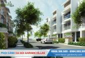 Ký trực tiếp CĐT giá đất 50 tr/m2 liền kề Garden City Long Biên, vay ưu đãi, miễn 5 năm phí dịch vụ