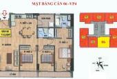 Gia đình tôi đang cần bán gấp căn hộ 113.5m2, 3 PN tòa chung cư VP4 Linh Đàm