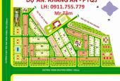 Chuyên bán đất Khang An- Địa Ốc 3, nền B6, DT: 160m2, đường 16m, đối diện CV, giá 23tr/m2
