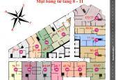 Bán chung cư Tháp Doanh Nhân, căn 1506, DT 63m2, giá 18,5tr/m2. LH chủ nhà 0906255790