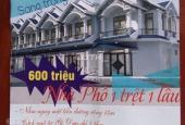 Mở bán chính thức dự án Bình Hòa, nhà mặt phố liền kề, 1 lầu 1 trệt