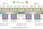 Cần bán căn hộ chung cư Ecolife Capitol - 58 Tố Hữu, 103m2 tầng 1802, giá bán 25tr/m2. 0985.752.065