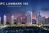 Cho thuê sàn thương mại tầng 1 đến tầng 4 tòa nhà chung cư HPC Landmark 105
