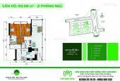 Rao bán nhanh căn hộ HAGL, 2PN, nội thất đẹp, đầy đủ, view biển, giá 2.4 tỷ, 0935182382