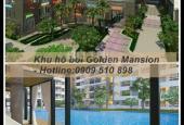 Căn hộ Golden Mansion 3PN mua trong tháng 9, giá 3.8 tỷ, giảm còn 3.2 tỷ