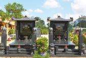 Mộ đơn, mộ đôi, nhà mồ, mộ gia tộc nghĩa trang Phúc An Viên, Quận 9