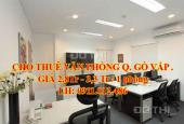 Cho thuê mặt bằng bán hàng online, văn phòng công ty Gò Vấp