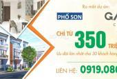 MỞ BÁN GĐ1 KĐT GAIA CITY, CHỈ 350TR/NỀN, ĐẦU TƯ NHỎ - SINH LỜI TO. LH 0919086852