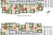 Bán chung cư 89 Phùng Hưng, căn 1602, DT 81,01m2, giá 17 tr/m2, 0969.947.369
