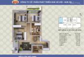 Nhượng lại chung cư Tây Nam Linh Đàm căn góc 95,67m2, 3 phòng ngủ tòa A1CT2, tầng 10
