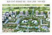 Bán CHCC tòa A3D2 khu đô thị Đặng Xá, Gia Lâm, HN, DT 58m2, giá 820tr