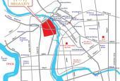 Bán đất nền Bình Dương dự án Mega City, mặt tiền đường, ngay chợ Bến Cát, giá 450 triệu/100m2