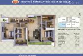Gia đình bán gấp chung cư Tây Nam Hồ Linh Đàm, Hoàng Mai tòa A1CT2 căn 134.52 m2