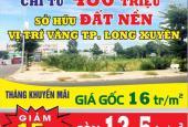 Đất nền vị trí đẹp giá hot nhất thị trường - kđt Golden City An Giang