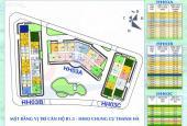 Thông tin chi tiết và mặt bằng căn hộ chung cư B1.3 HH03 Thanh Hà