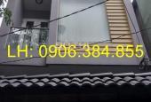 Cho thuê nhà hẻm 482 Lê Quang Định, (4 x 12), 1 trệt, 3 lầu. Giá 14 tr (sau lưng chù Dược Sư)