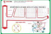 Bán đất thổ cư KDC Long Thành, SHR, giá chỉ 5,4tr/m2