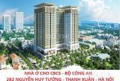 Bán chung cư CBCS Công An 282 Nguyễn Huy Tưởng, Thanh Xuân, Hà Nội, diện tích 64m2