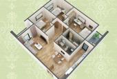 Bán chung cư HUD3 Nguyễn Đức Cảnh căn 3 phòng ngủ, 90.4m2 view đẹp nhất, ưu tiên thanh toán sớm