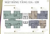 Bán căn Duplex D1Mension tại tầng 12A-12B 187m2 4pn
