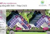 Nhượng lại căn hộ 91,5m2, tòa C West Bay, khu đô thị Ecopark với giá gốc