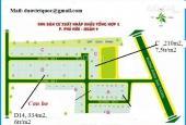 Bán đất nền sổ đỏ dự án Xuất Nhập Khẩu, Quận 9, góc 2 MT, giá 43 tr/m2