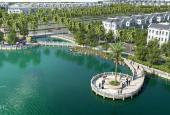 3 căn liền kề góc 112-128m2 xây song lập quá hiếm ven hồ 12,4 ha Vinhomes Riverside 2 giá: 9.09 tỷ