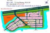 Bán gấp lô A1-107 đất biệt thự sổ đỏ, dự án Bách Khoa, quận 9
